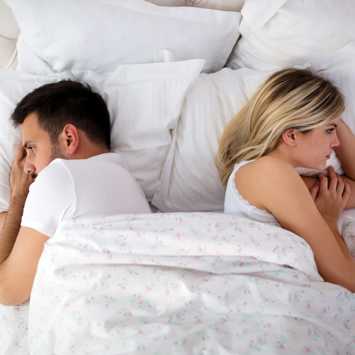 Is sleep the only thing happening in the bedroom?