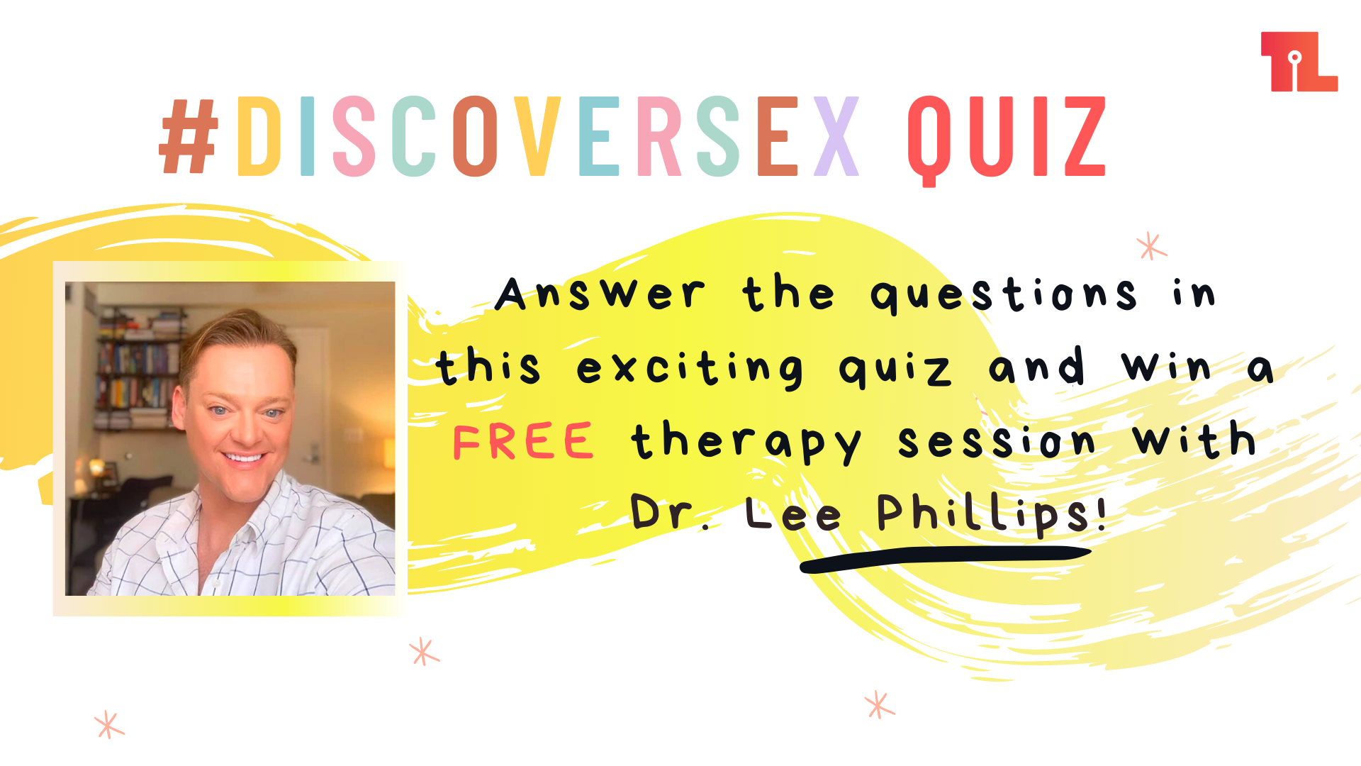Tickle.Life #DiscoverSex Giveaway: Win FREE therapy with Dr. Lee!