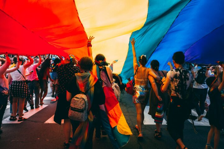 LGBTQ+ pride flag_coming out from closet_lgbtq_tickle.life